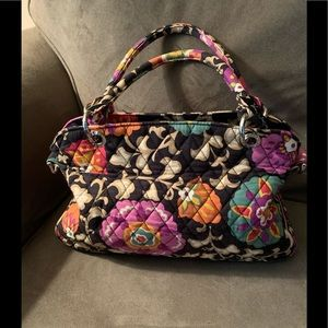 Vera Bradley Satchel/Shoulder Bag in Suzani